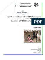 Final Report for Rural Speed Radio Programs Impact Assessment_Ian Nkata_Uganda