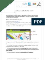 Como Acceder a Los Certificados