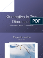 Kinematics InTwo Dimensions