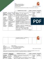 6 Planificaciones clase a clase Unidad 1, Escuela España. G.S