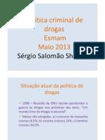 Politica Criminal de Drogas
