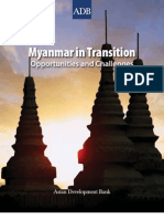 Myanmar in Transition(SWOT Analysis)
