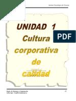 Unidad 1 Cultura Corporativa de Calidad