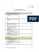 Discovery 2 Mod 9 - Student Study Guide