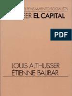 Althusser Louis Para Leer El Capital Ed Siglo XXI 1969 OCR