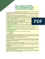 Redes de Tel y Servicios