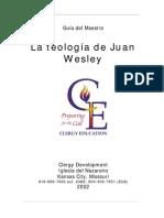 La Teologia de John Wesley Guia Del Maestro