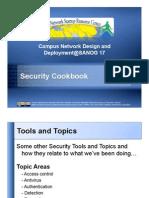 Security Cookbook