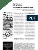 La formación del profesorado en el uso educativo de las tic