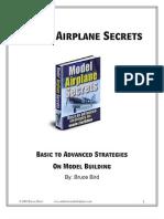 Model Airplane