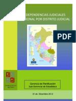 PLAN 10051 Mapa y Dependencias Judiciales 2012 2013