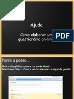 Como Elaborar um questionário online no GoogleDocs