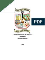 Descripción General del Municipio de Delgado 2013 Cc