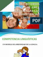 ESTRATEGIAS Y RECURSOS DIDÁCTICOS  PARA DESARROLLAR LAS COMPETENCIAS - copia