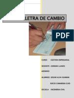 Letra de Cambio Final