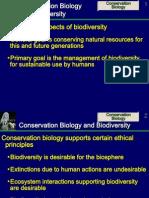 Conservation Biodiversity