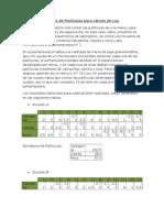 Mine Informe de Conteo de Particulas