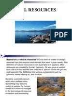 Man and Environment 6 Natual Sources