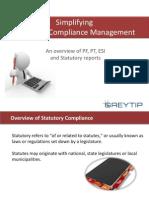 Simplify Statutory Compliances with Greytip Online