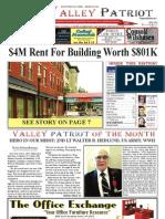 The Valley Patriot Newspaper, North Andover Massachusetts, July 2013, Tom Duggan