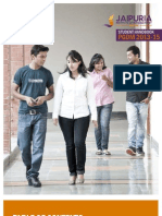 Jaipuria Institure of Management  Student Handbook Indore