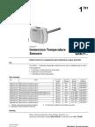Liquid Immersions Temperature Sensors