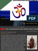 Vivekananda Prophet of Modern Age.pps