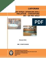 Laporan KKL 2013