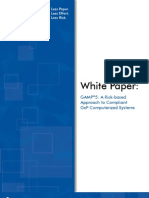 Whitepaper Gamp5 Risk Based Approach