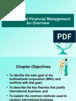 Multinational Financial Management:An Overview