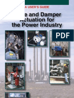 User's Guide - Valve and Damper Actuation for the Power Industry