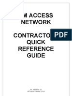 Contractors Quick Reference