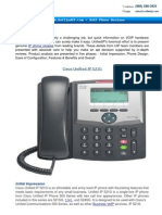 Cisco Unified IP Phone 521G Review
