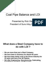 Coal Piping Balance