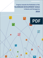 Bosnia and Herzegovina Millennium Development Goals Report 2010
