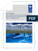 Low-emission development strategies and mitigation actions