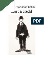 Mort a credit - Louis-Ferdinand Céline.pdf