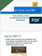 Mengenali Tanda Awal DBD