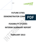 Future Cities Feasibility Studies - Interim Report