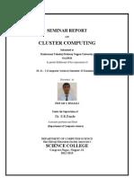 Cluster Computing by Pritam Bhansali