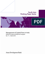 Management of Capital Flows in India
