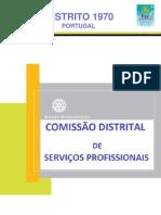 NEWSLETTER Final-Comissão Distrital de Seviços Profissionais, 2012-2013