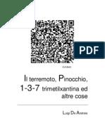 Il Terremoto Pinocchio 1 3 7 Trimetilxantina Ed Altre