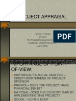 Project Appraisal Presentation