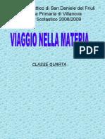 La Materia Villanova classe 4