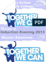 Induction Evening