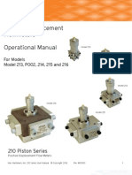 Max Manufacturing 214 Flowmeter Manual