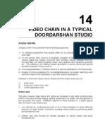 14_Video Chain in a Typical Doordarshan Studio