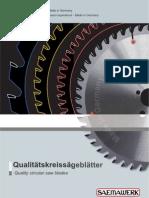 Catalog Panze Circulare Saemawerk