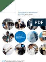 영국 INTO gcu-brochure-2013-14
